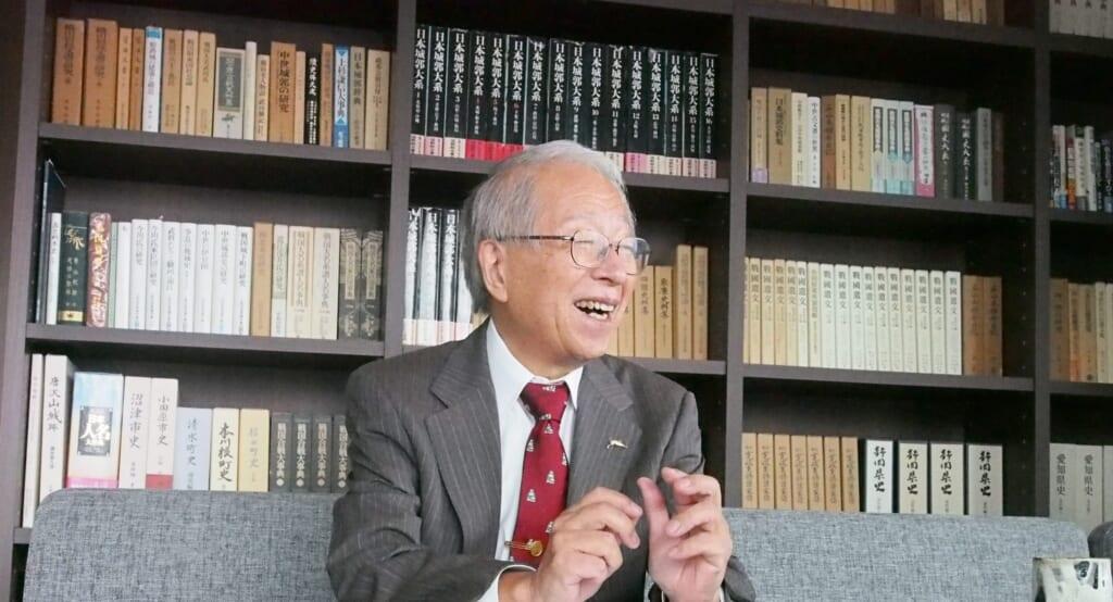 戦国法人カード小和田哲男先生インタビュー1