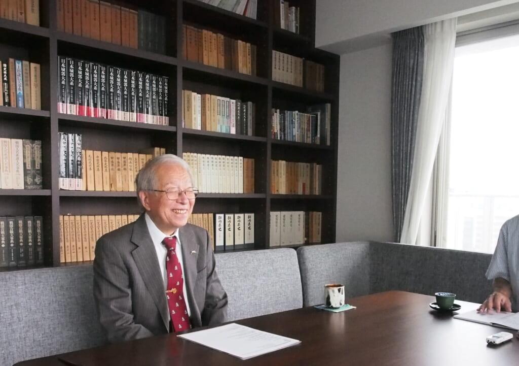 戦国法人カード小和田哲男先生インタビュー7