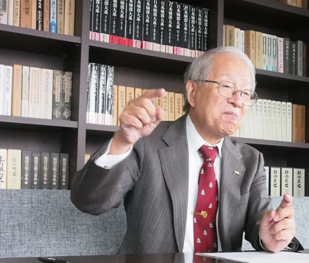 戦国法人カード小和田哲男先生インタビュー5