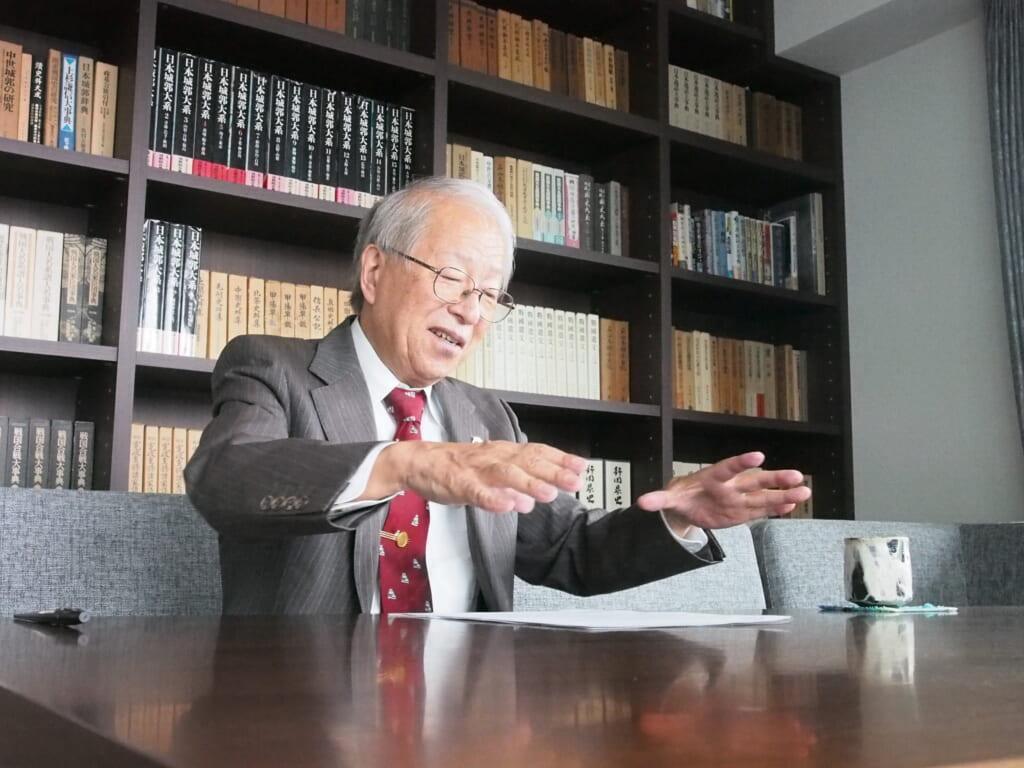 戦国法人カード小和田哲男先生インタビュー6